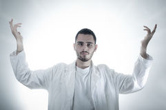 God-like Researcher Royalty Free Stock Images