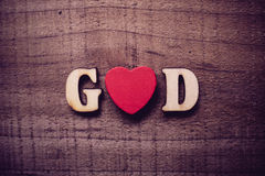 God is Love Royalty Free Stock Images