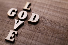 God is Love Royalty Free Stock Photos