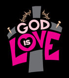 God Is Love Illustration Royalty Free Stock Photos