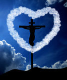 God is love. For God so loved the world Royalty Free Stock Photography