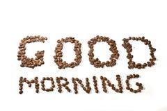 god morgon Arkivfoto