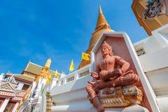 God of Music at Wat Bovorn (Bowon) Nivet Viharn in Bangkok Royalty Free Stock Photography