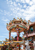 God Naja chinese temple Stock Images