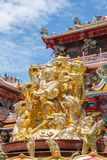 God Naja in chinese temple Stock Photography