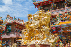 God Naja in chinese temple Royalty Free Stock Photos