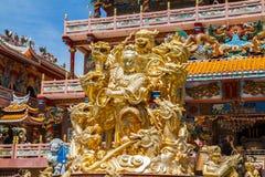 God Naja chinese temple Stock Photo
