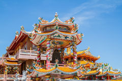 God Naja in Thailand Royalty Free Stock Image