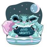 god natt Fotografering för Bildbyråer