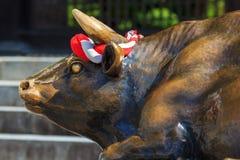 God Ox in front of Dazaifu Tenmangu Royalty Free Stock Image