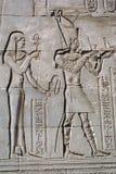 God and pharaon Stock Photography