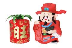 God of Prosperity Figurine Stock Image