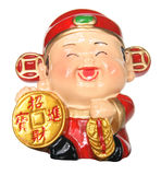 God of Prosperity Figurine Royalty Free Stock Photography