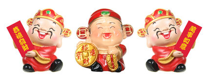 God of Prosperity Figurines Stock Photos