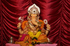 God of prosperity-Indian Lord Ganesh-I Royalty Free Stock Photography