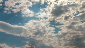 God Rays Time Lapse stock video footage