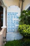 God's commandments Royalty Free Stock Photo