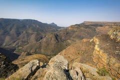 God& x27; s okno na słonecznym dniu, Mpumalanga, Południowa Afryka Zdjęcie Stock