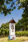 God& x27;s torture with vineyard near Nechory, Czech Republic royalty free stock photography