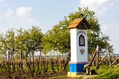 God's torture with vineyard near Nechory. In Czech Republic Royalty Free Stock Images