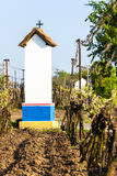 God's torture with vineyard. Near Nechory, Czech Republic Stock Images