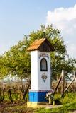 God's torture with vineyard. Near Nechory, Czech Republic Royalty Free Stock Photography
