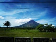 God& x27; s tworzył ten cudownego wulkan Mayon fotografia stock