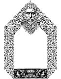 God´s Victorian Frame. Victorian style frame with a God´s figure as the main subject Royalty Free Stock Image
