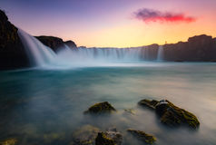God´s waterfall Royalty Free Stock Photography