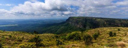 God's Window, Mpumalanga South Africa. Panoramic vista from God's Window - Blyde River Canyon - Mpumalanga - South Africa stock photos