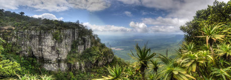 God's Window, Mpumalanga South Africa. Panoramic vista from God's Window - Blyde River Canyon - Mpumalanga - South Africa royalty free stock photo