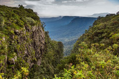 God's Window. View point near Graskop in the Mpumalanga province of South Africa Royalty Free Stock Photos