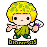God sake Dionysus Royalty Free Stock Photo
