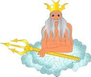 God of the sea Stock Photo