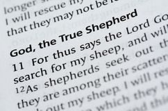 God the Shepherd Royalty Free Stock Photo