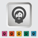 God single icon. Vector illustration Stock Photos