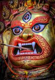 God swet bhairab angry god stock photos