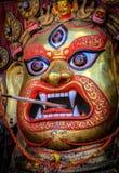 God swet bhairab angry god stock photos