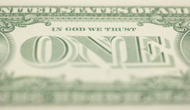 In God We Trust Stock Photography