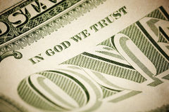 In God We Trust Royalty Free Stock Photography