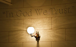 In God We Trust Royalty Free Stock Images
