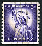 In God We Trust US Postage Stamp Stock Images