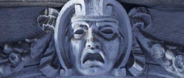 God van de Griekse mythologie van vreesphobos stock fotografie