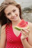 god vattenmelon Arkivbild