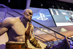 God of War Kratos at E3 2012 Royalty Free Stock Photo