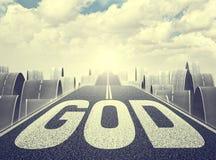 God way Stock Image