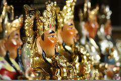 God of wealth. Some chinese god of wealth.macro royalty free stock photo