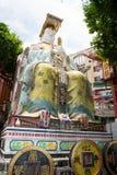 God of wealth or Cai Shen. God of fortune, at Tin Hau temple Repulse Bay, Hong Kong Royalty Free Stock Photos