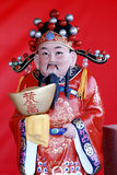 The God of Wealth of China royalty free stock image