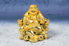 God of Wealth. Caishen is the Chinese god of prosperity worshipped in the Chinese folk religion and Taoism Stock Photos